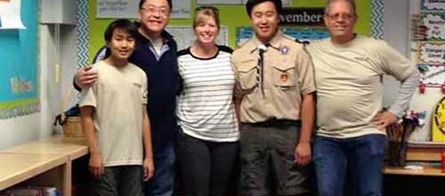 Nicholas Ryu Eagle Project Troop 888
