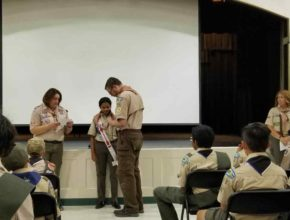 Mrs. Subramanian awarded Woodbadge – Adults Encouraged to Follow!