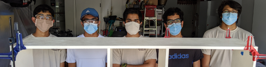 Aniket Sheth Builds Cabinets for his Local Jain Temple