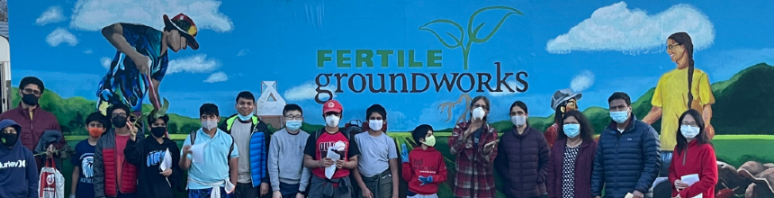 Shiven Aggarwal and the Hydra Patrol Plant Alyssum Seeds at Fertile Groundworks