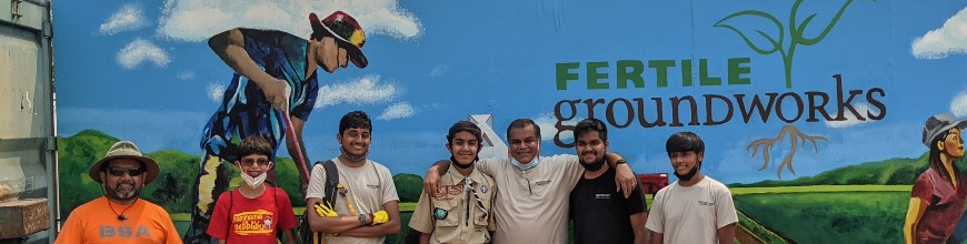 Adarsh Sheth Builds Greenhouse Bench for Fertile Groundworks